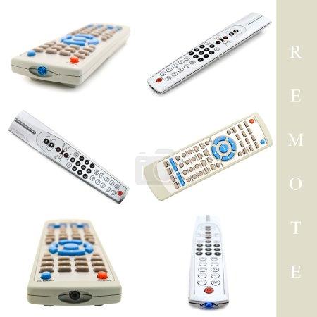 Set of remote controls