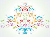 Abstraktní květinové dekorace