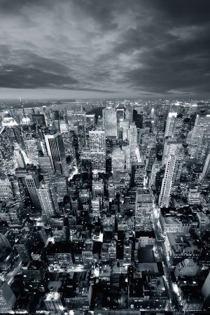 Photo pour Gratte-ciel de New york city - image libre de droit