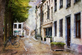 Streets of Maastricht, Netherlands