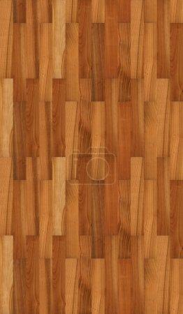 Photo pour Texture de plancher cerise sans couture - image libre de droit