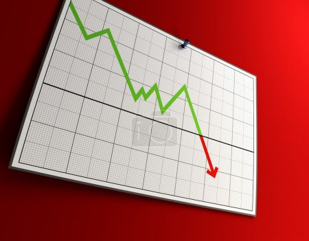 3d rendering of the falling graph...