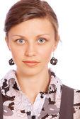 Portrait of business woman close up