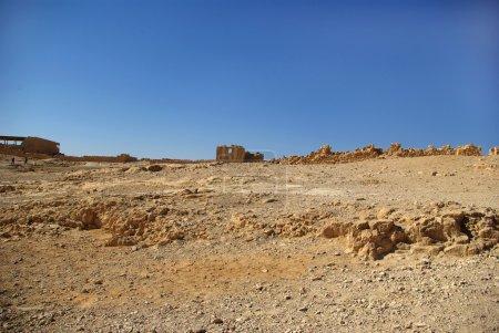 Ruins of Masada fortress