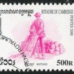 Постер, плакат: Stamp by Cambodia