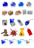 Clip art icons vector illustration EPS and AI files included