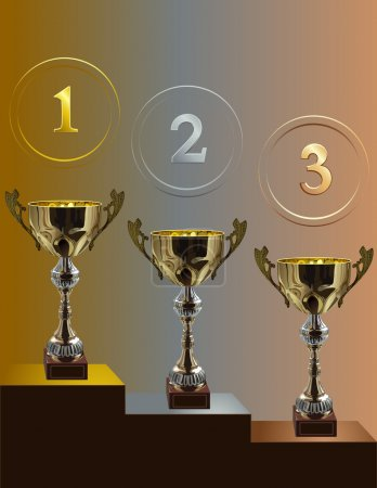 Competition cup_three_places