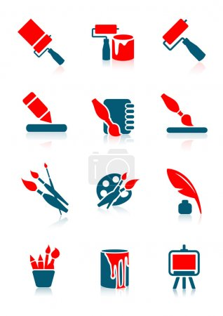Illustration for Drawing icons, vector illustration, EPS and AI files included - Royalty Free Image