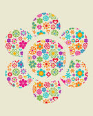 Floral background - 1