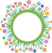 Floral frame - 3