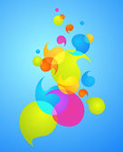 Colorful bubble background - 3