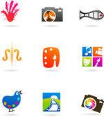 Art and photo icons