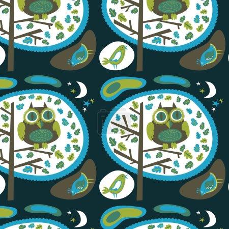 Night owl wallpaper