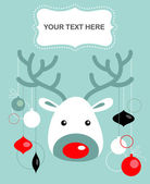 Christmas reindeer card - 2