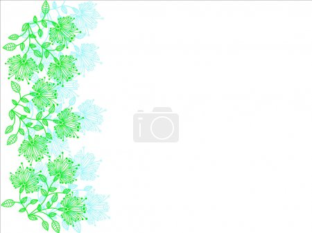 Flower abstraction background