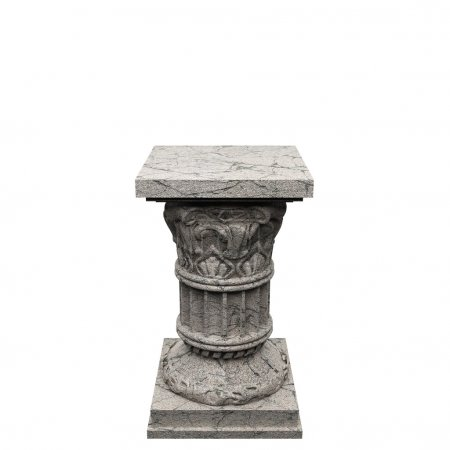 Photo for Stone column made in 3 D graphics - Royalty Free Image