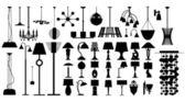 Lamps (vector)