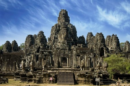 Ancient temple in Angkor Wat, Cambodia
