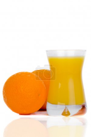Photo pour Jus d'orange - image libre de droit