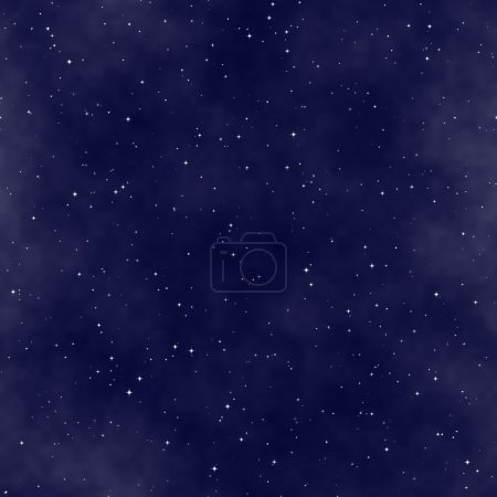 Photo for The star night sky, abstract cosmic background - Royalty Free Image