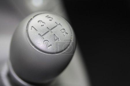 Car interior, stick shift czr
