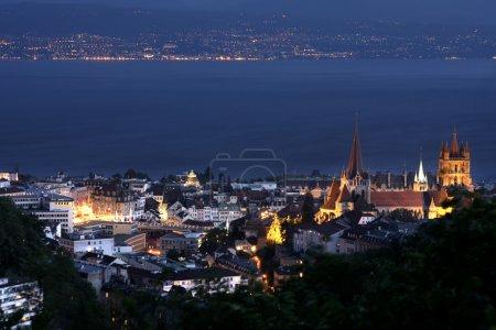 Lausanne, Geneva lake, Switzerland