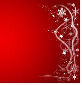 Röd jul bakgrund