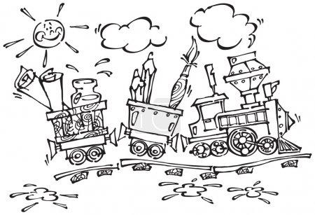 Baby train_Black