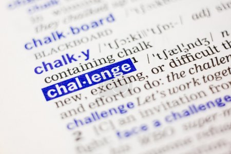 Dictionary definition of challange