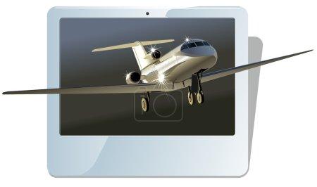 Vector business jet