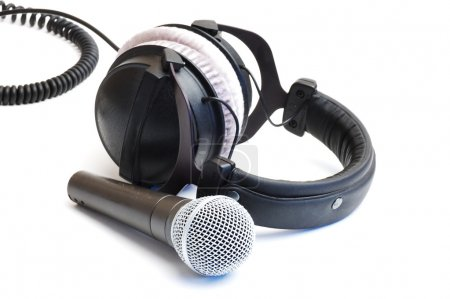 Ear-phones and microphone