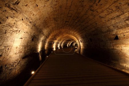 Acre knight templer tunnel, Israel