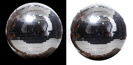 Two disco ball