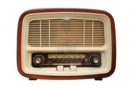 Old radio from 1950 and the years....