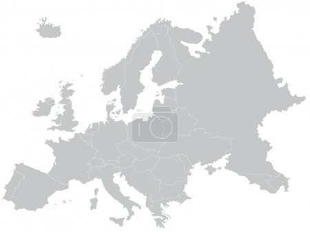 Photo for Europe map - Royalty Free Image