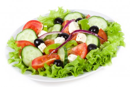 Photo for Fresh salad with vegetables - Royalty Free Image