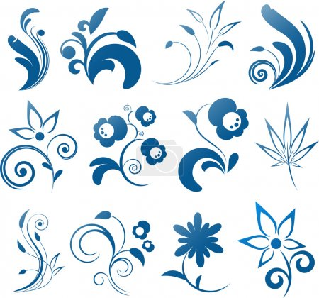 Illustration for Collection of vector design elements. EPS 8, AI, JPEG - Royalty Free Image