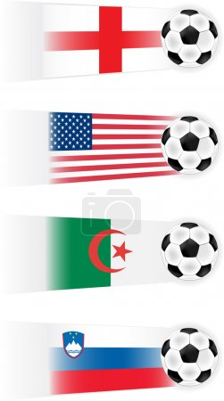 Soccer Group C Teams clip art