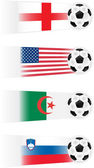 Soccer Group C Teams clip art (other groups also available)