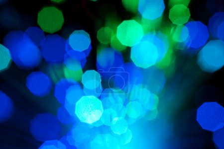 Photo for Colorful fiber optic abstract background - Royalty Free Image