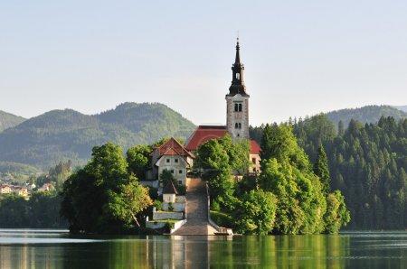 Santa Maria Church - Bled