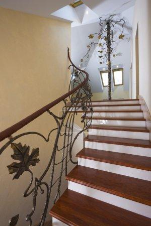 Modern staircase.