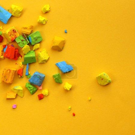Color oil pastel