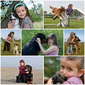 Children and dogs