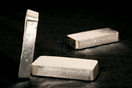 Photo pour 1 kg 999 barres de siver - image libre de droit