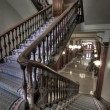 Old Staircase Into Hallway in Historic Pioneer Cou...