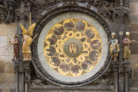 The Prague Astronomical Clock,calendar