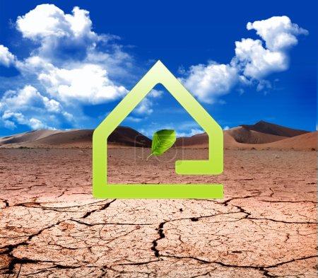 Photo pour Eco protection de la vie - image libre de droit