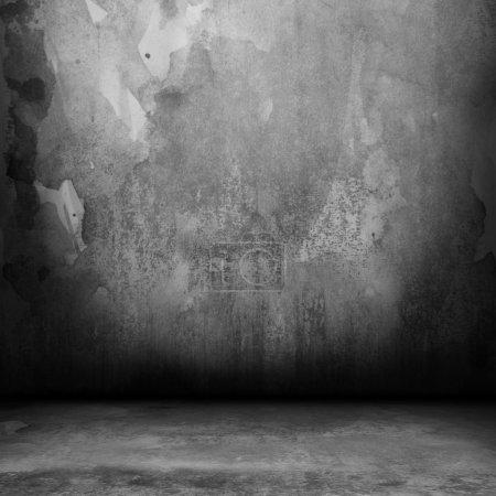 Photo pour Intérieur Grunge avec espace vide - image libre de droit