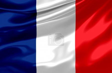 Photo pour Français drapeau - france - image libre de droit
